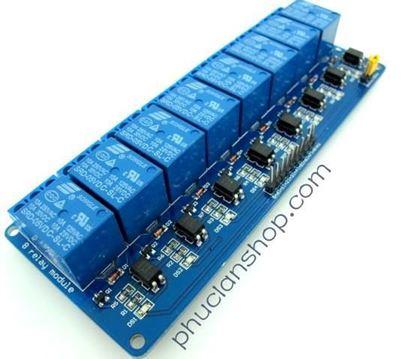 Picture of  Module Đóng ngắt 8 relay có Opto cách ly